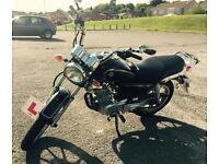 Yamaha YBR 125 Custom - 15 plate 1300 miles