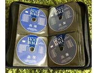 Holly Bible on CD old and new testament 60+ Disc and case