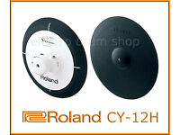 "Roland CY-12H V-Drums electronic Hi hat crash etc 12"" 2 Zone trigger with choke"