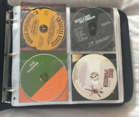 CD collection, approximately 250 CDs
