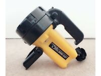 DIALL ABS LED BLACK & YELLOW SPOTLIGHT B&Q 1,200,000 Candle Power Torch Light
