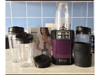 NUTRI NINJA IQ BLENDER (LIKE NUTRI BULLET) FOR SALE - REDUCED FOR QUICK SALE