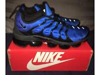 Nike Air Vapormax TN Plus Tuned Trainers Navy/Sky Blue Black Men's UK 10 BNIB RARE