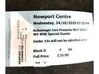Concert tickets for Why Don't We Newport