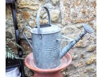 2 gallon galvanised watering can