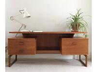 Stunning Mid Century G Plan Teak Floating Desk/Dresser VINTAGE RETRO 1960's