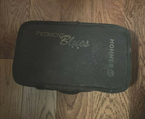HOHNER Piedmont Blues 7 Piece Harmonica Set in Original Carrying Case