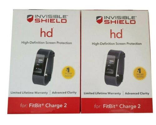 ZAGG InvisibleShield HD Fitbit Charge 2 Screen Protector 2 Pack