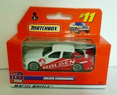 MATCHBOX CARS HOLDEN COMMODORE 1999 ISSUE