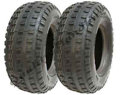 2 - 16x6.00-8 Stiga lawnmower tyres grass turf 16 600 8 tire pair