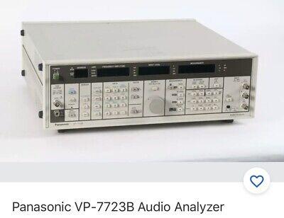 Panasonic Vp-7723b Audio Analyzer