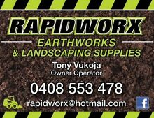 Rapidworx Earthworks & Landscape Supplies Carindale Brisbane South East Preview