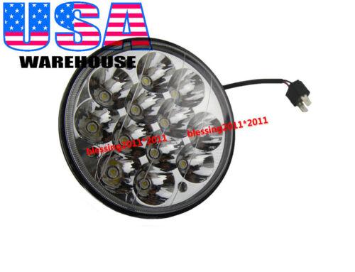"""5-3/4"""" LED HID CREE LIGHT BULB CRYSTAL CLEAR SEALED BEAM HEADLIGHT HEADLAMP AAD1"""