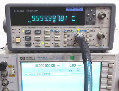 Hpagilent 53131a Opt030 225 Mhz Universal Frequency Counter