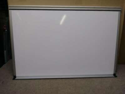 Deluxe Dust-free Dry Erase Whiteboard W Aluminum Trim Maprail 2 X 3