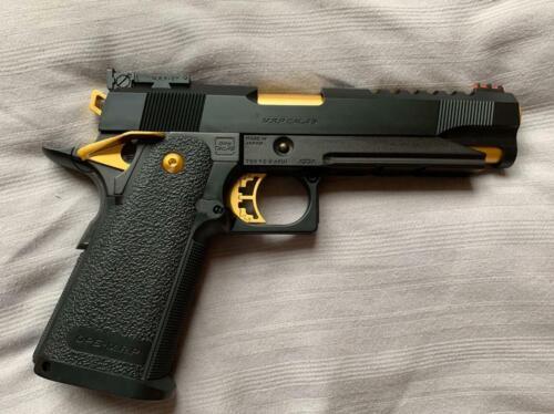 Tokyo Marui Hi-capa 5.1 Gold Match Airsoft Pistol