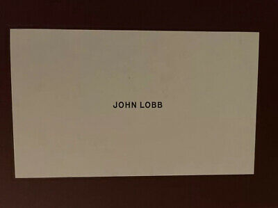 John Lobb Lopez Men Size 8 Brown Suede