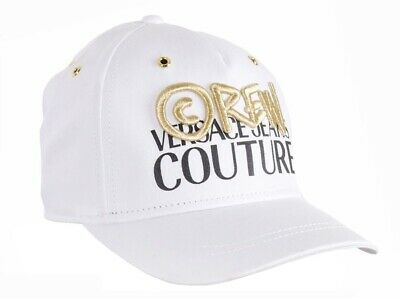 Versace Jeans Couture Crew Logo Baseball Cap White
