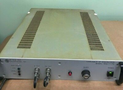 L3 Narda Miteq Model Veq-1-70 Variable If Equalizer
