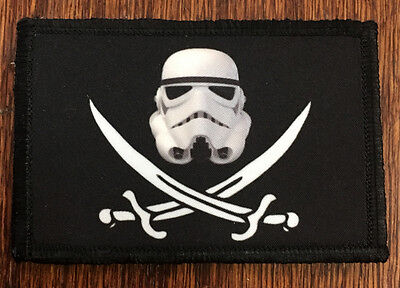 CALICO JACK Stormtrooper Morale Patch Tactical Military Flag Army USA SEAL -