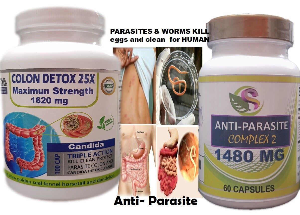 Fast COLON DETOX Clean & Flush Colon Parasite and lower intestines kill egg fast 3