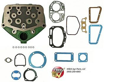 Cylinder Head Engine Gasket Kit John Deere B Bi Bn Bnh Bw Bw40 Bo Br Tractor