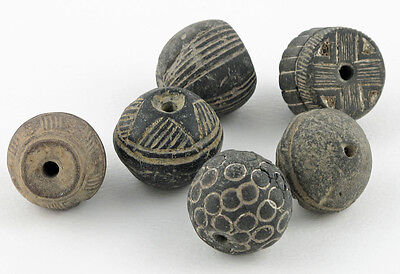 Spindle Whorl Beads/ India / Mali