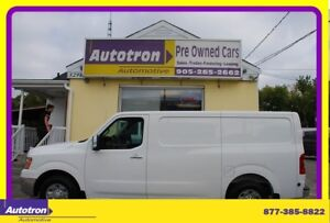 2012 Nissan NV 2500 3/4 Ton Low Cargo Van, Loaded