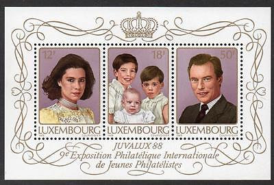 LUXEMBOURG MNH 1988 MS1225 JUVALUX 88