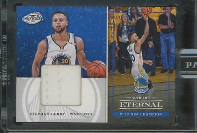 2017 Panini Eternal The Finals #PEF12 Stephen Curry 1/25 Jersey