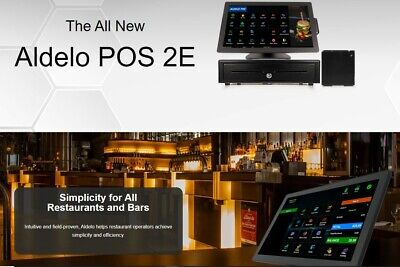 Aldelo Pro 2e Software For Restaurants Bar Pizza Bakery New
