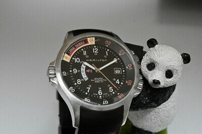 Hamilton Khaki Navy GMT H776350 Automatic Aviator pilot 42mm