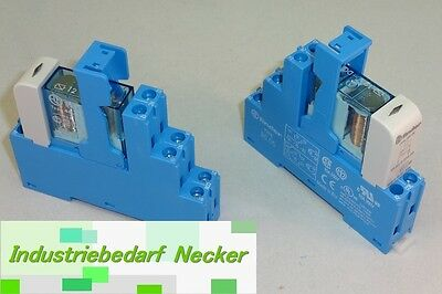 48.61.7.012.0050 - Finder Koppel Relais 12V DC 1 Wechsler 16A