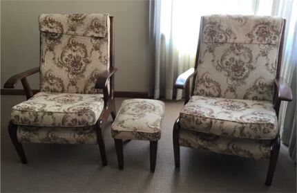 Wrightbilt Lounge Chairs x 2 Roselands Canterbury Area Preview
