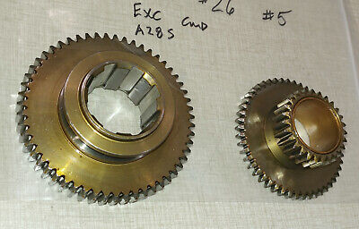 Emco Maximat Super 11 Lathe Headstock Parts Mating Pinion Gears A28s