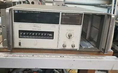 Hp 8660a Signal Generator W Opt 001 And 86631b Auxilary Section Make An Offer