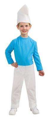SMURF CHILD HALLOWEEN COSTUME BOY'S SIZE SMALL - Smurf Halloween Kostüme