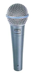 Shure Beta 58A Dynamic Microphone - Free Shipping