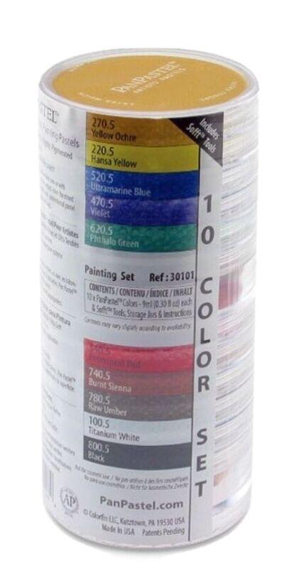 "ARMADILLO ART & CRAFT 30101 PANPASTEL SET 10 COLOR ""Painting Colors """