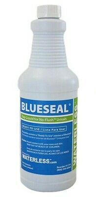 Waterless 1114 1-Quart BlueSeal Urinal Trap Liquid for no flush Urinals