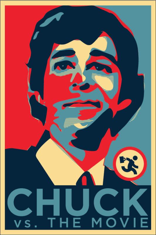 Chuck vs The Movie Sticker Zachary Levi