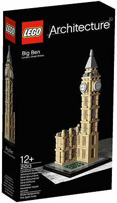 LEGO 21013 BIG BEN  BRAND NEW SEALED ARCHITECTURE SET SLIGHTLY DAMAGED BOX