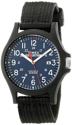Timex Men's Expedition Acadia Military Black Resin/Nylon Watch TW4999900