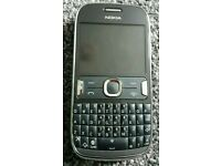 Nokia Asha 302 unlocked grey 3.2mp wifi