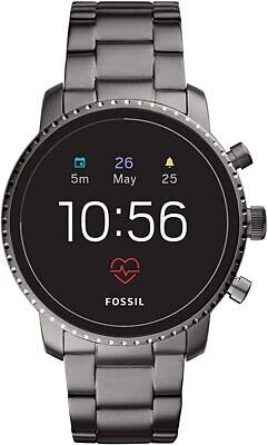 FOSSIL GEN 4 EXPLORIST SMART WATCH SMOKE STAINLESS STEEL FTW4012 APPLE ANDROID