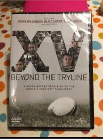 XV Beyond The Tryline DVD New