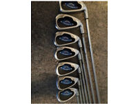 Callaway x16 irons regular graphite shafts