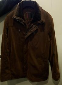 Mens Designer Brand Soft Leather Jacket