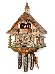 Hekas Black Forest Cuckoo Clock Black Forest House New/Boxed Black Forest