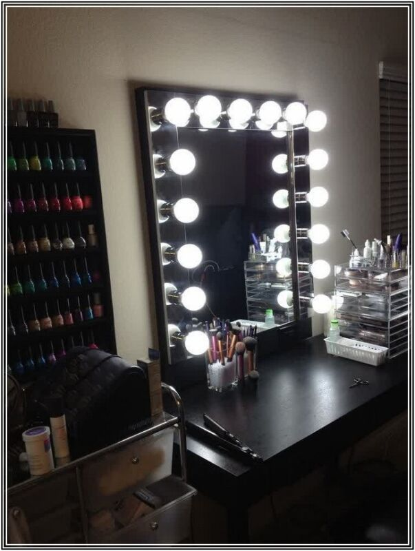 led vanity mirror tutorial ebay. Black Bedroom Furniture Sets. Home Design Ideas